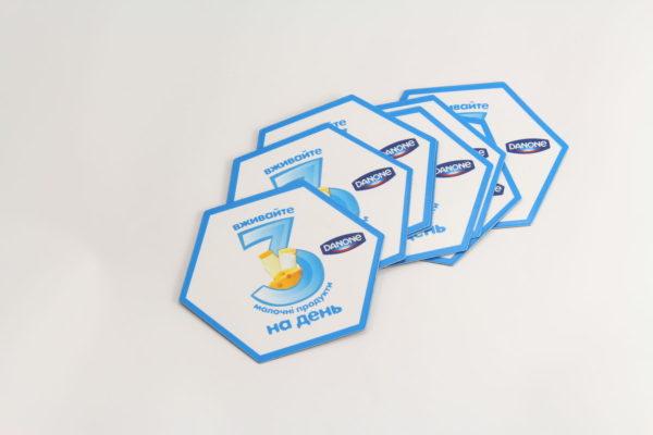 Плоские рекламные магниты на холодильник