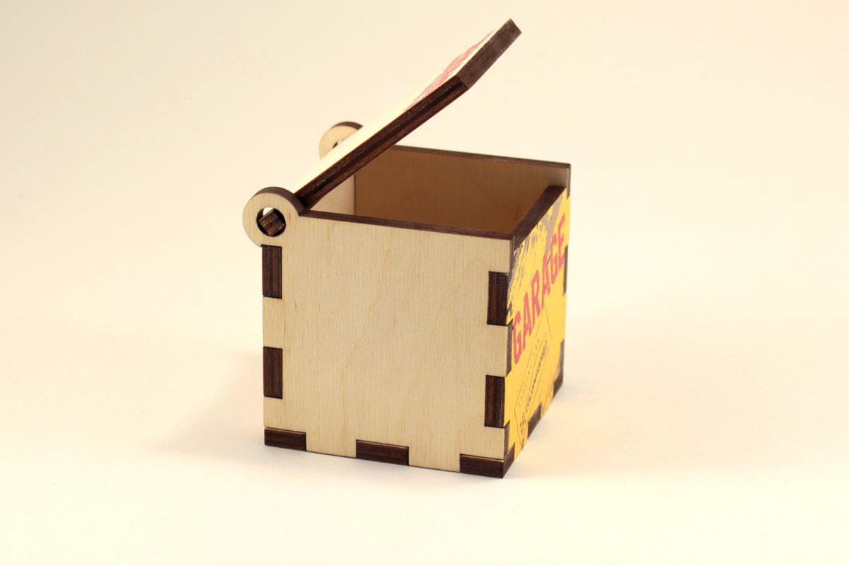 самая простая коробка из фанеры