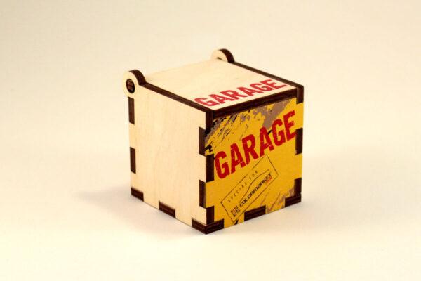 фанерная коробка с печатью