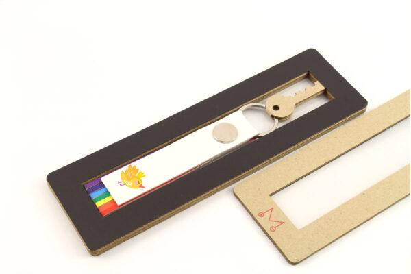 коробка картонная оригинальная с логотипом