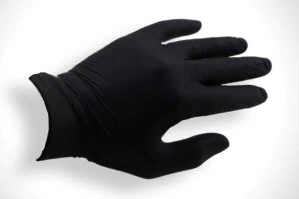 перчатки резиновые упакованные в пакет