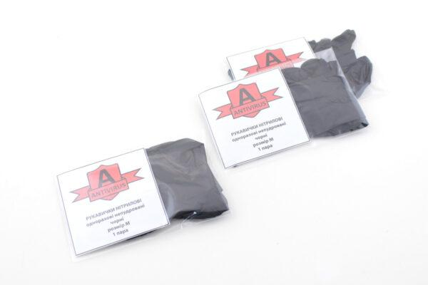 упаковка перчаток силиконовых