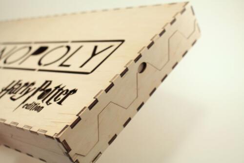 коробка из фанеры с лазерной порезкой