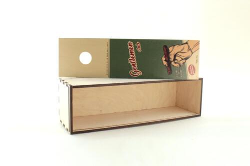 фанерные коробки со сдвижной крышкой