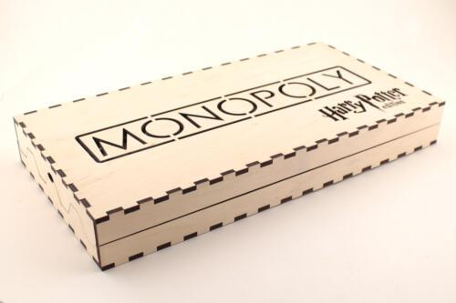 коробка для монополии из фанеры