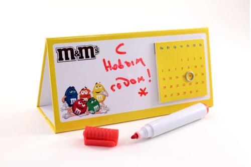 Вечный календарь со съёмным календарным блоком на магните