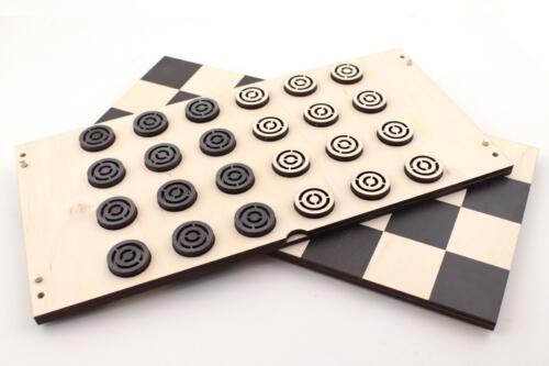 шашки фанерные