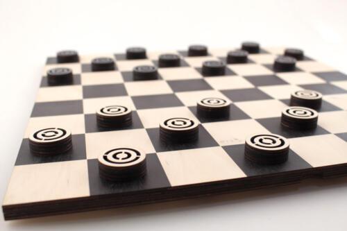 шашки рекламные